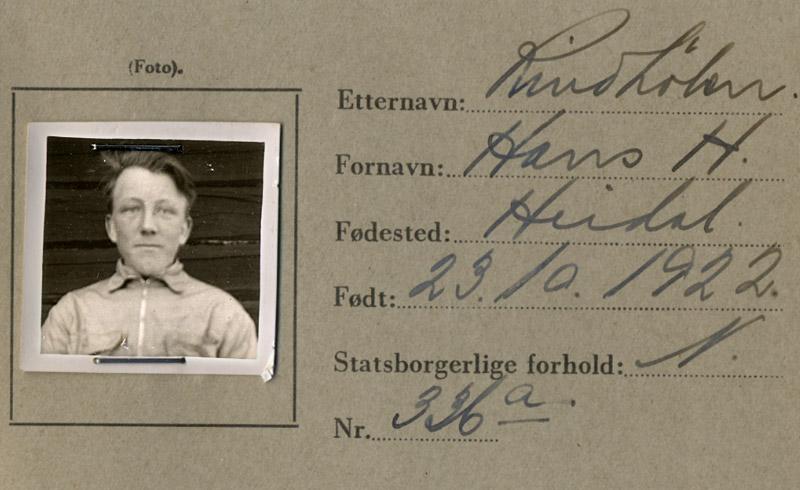 ID-kort 2. verdenskrig