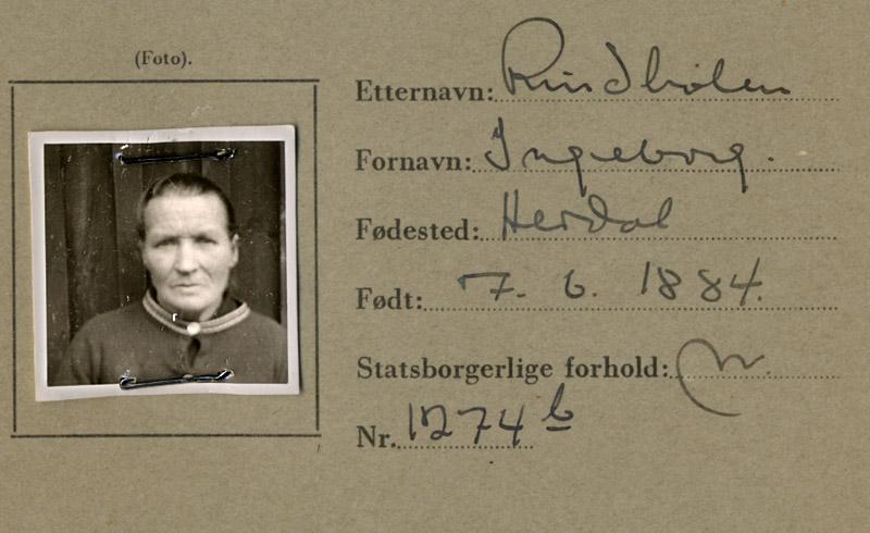 Ingeborg Hansdatter Rindhølen